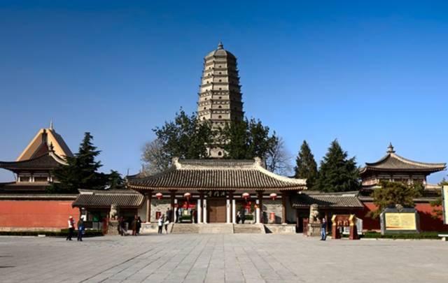 感业寺现还在吗,陕西古庙你去过几个?