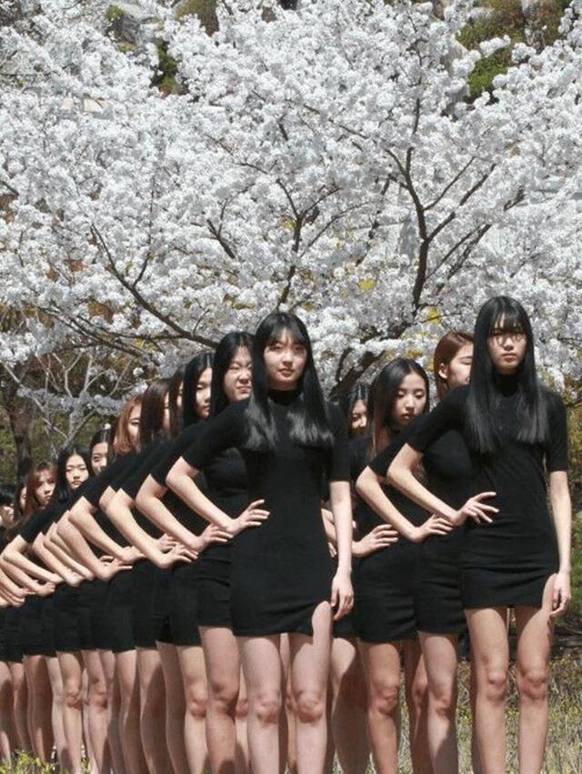 韩国从未整容的女孩,她们究竟长啥样?看看韩国天然学生就知道了
