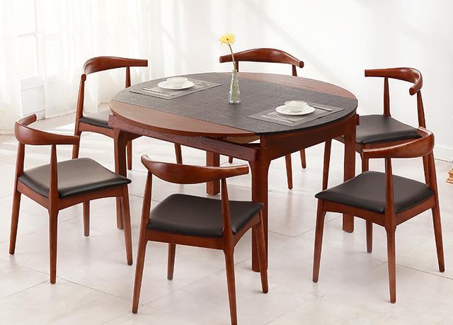 圆形桌子动漫图片,圆餐桌PK方餐桌,谁胜谁败都在你的一念之间