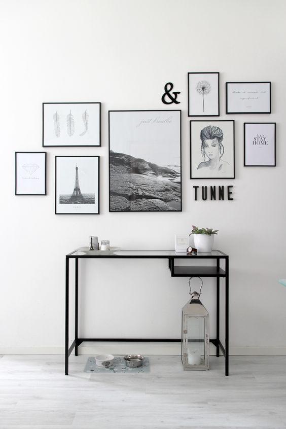 电脑照片墙,照片墙设计大全,每一个尺寸、搭配,详详细细!让人看一眼就膜拜