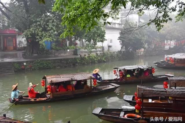 花漫水乡门票,广东顺德最美村庄,被誉为广东的周庄:顺德逢简水乡