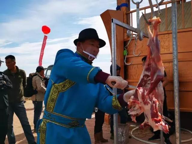 一锅炖!108只阿尔巴斯山羊遇上鄂尔多斯最大的锅!肉香四溢...