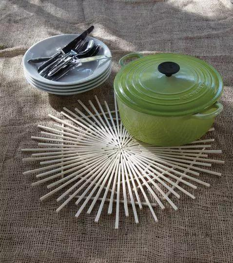 一次性筷子,用完就扔不环保,8个DIY超有用插图2