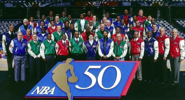 """NBA经常提到的历史50大巨星,难道没有一位""""水货""""球员?_加拿大28群"""