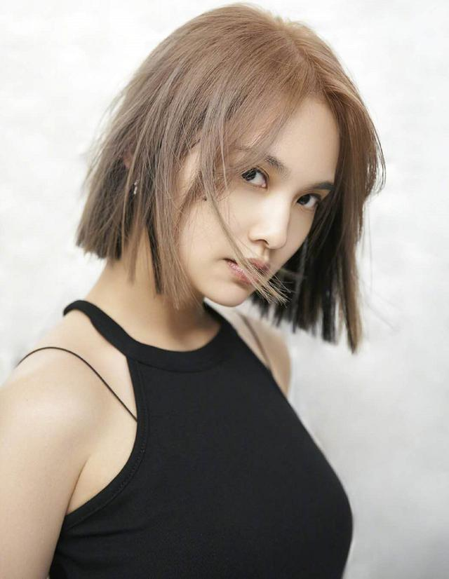 Rainie Yang Changed Her New Hairstyle Her Hair Color Is Too Eye Catching Li Ronghao The No 1 Beauty In The World Luju Bar