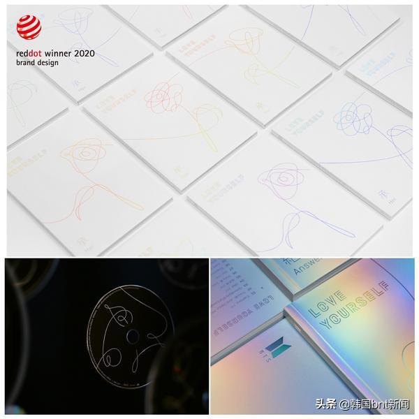 BTS《LOVE YOURSELF》系列專輯榮獲「2020紅點設計大獎」本獎