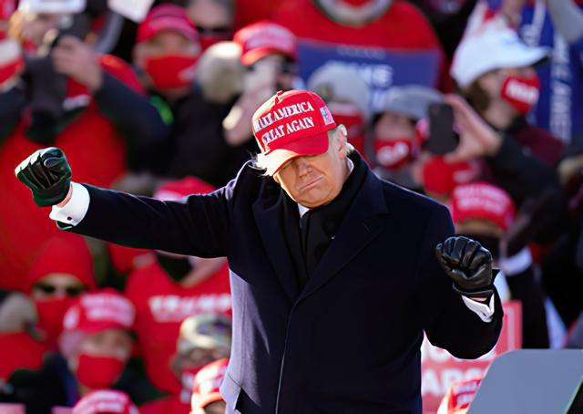 大选结果还没出,白宫门口已经发生示威游行,反对特朗普连任 全球新闻风头榜 第1张