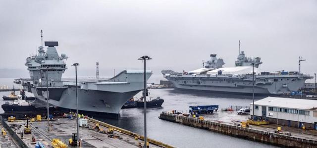港媒报道海军航母进度喜人,第三艘正在组装,第四艘开始建造-第4张