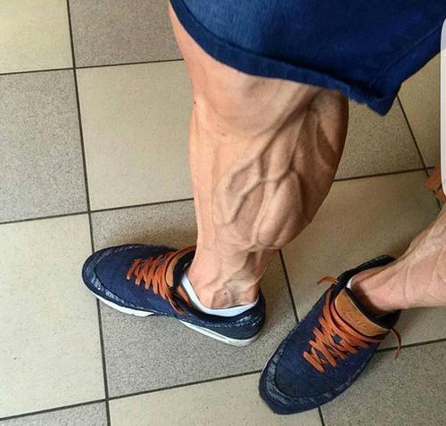 胫股前肌,最好的小腿肌肉练法,把大佬都练哭了,坚持下去就能让小腿更发达