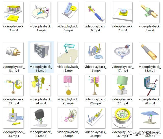 """200个机械设备动画,启发您的设计灵感"""""""