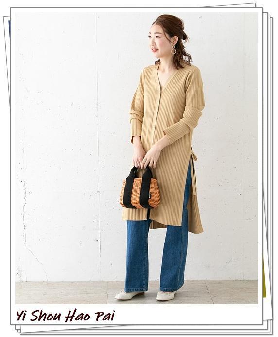米色开衫的秋季搭配精选!24种你值得尝试的优雅穿搭-第7张