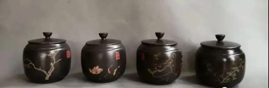 紫陶罐上的装饰——春夏秋冬 紫陶特点-第6张