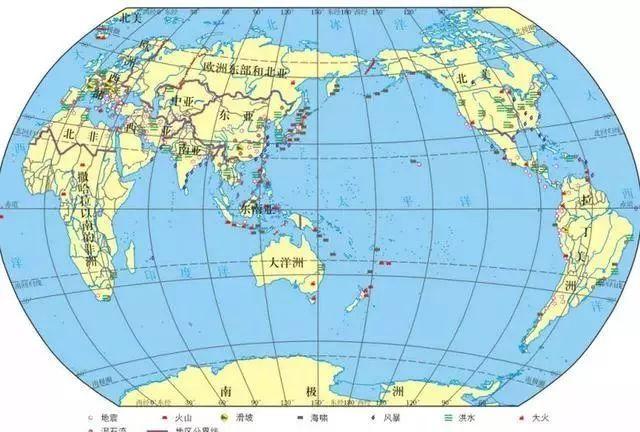 高中地理考点汇总:地图、地球运动、大气、水环境、陆地环境专题