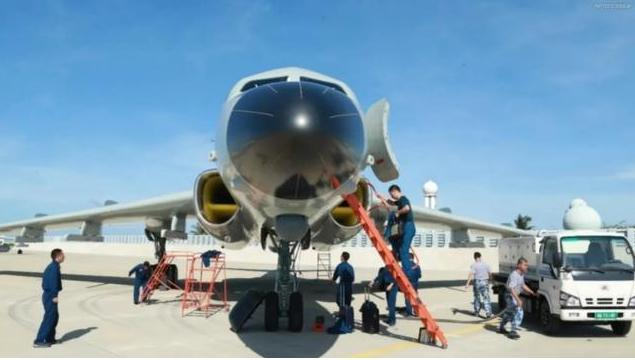 中国领土不容侵犯!解放军轰-6J轰炸机进驻永兴岛,美军坐不住了www.smxdc.net
