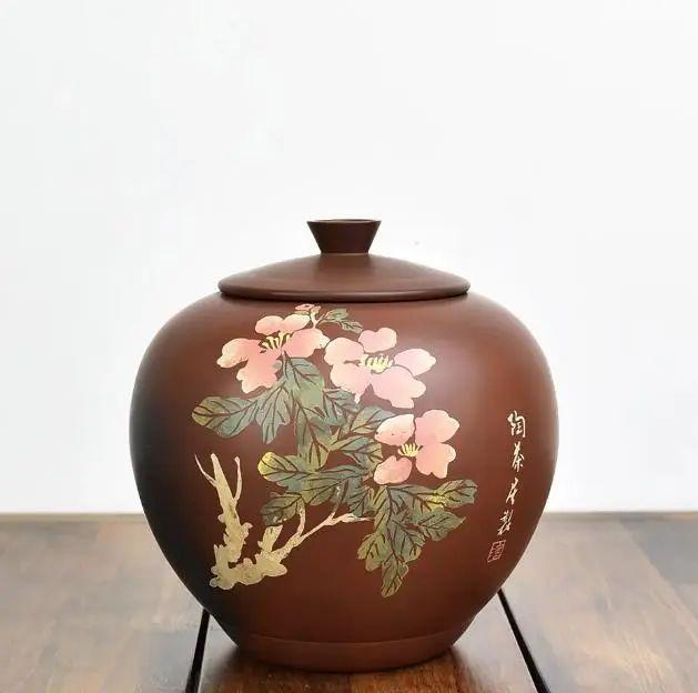 「赏·器」苹果紫陶茶罐 紫陶特点-第1张