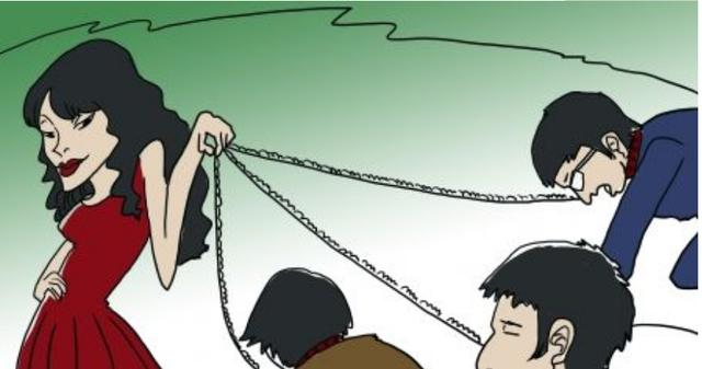 郑州某高校食堂内,男子当众下跪磕头给女友道歉,女生头也没回 全球新闻风头榜 第3张