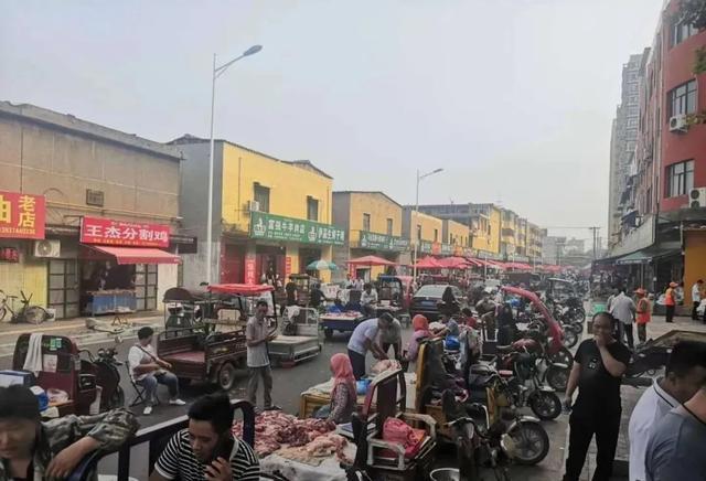 今天起,禹州这个地方一律不得占道经营、店外经营!