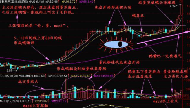 """但凡股票出现""""老鸭头""""走势,说明主力洗盘吸筹完毕,后市股价将迎来一轮凌厉涨势-今日股票_股票分析_股票吧"""