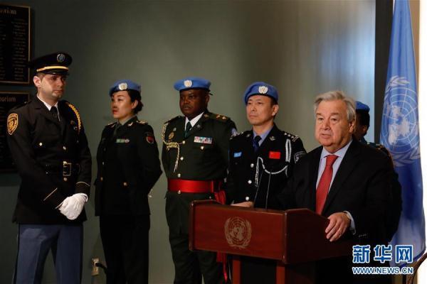 联合国举行仪式纪念海地大地震10周年