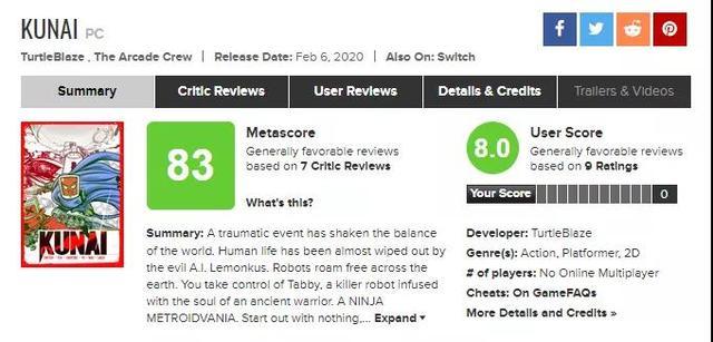 TurtleBlaze开发《酷派忍者》Steam特别好评 Steam 游戏资讯 第2张