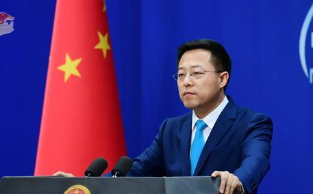 外交部:中方一贯坚决反对美台官方往来
