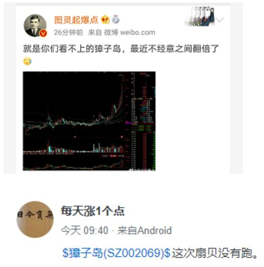 """""""飞天扇贝""""来了!獐子岛一个月股价翻倍,到底发生了什么?-今日股票_股票分析_股票吧"""