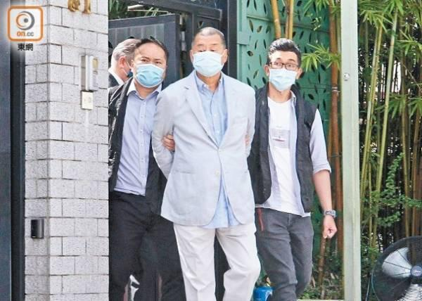 黎智英等10人赴香港警署报到,1人仍在深圳看守所www.smxdc.net