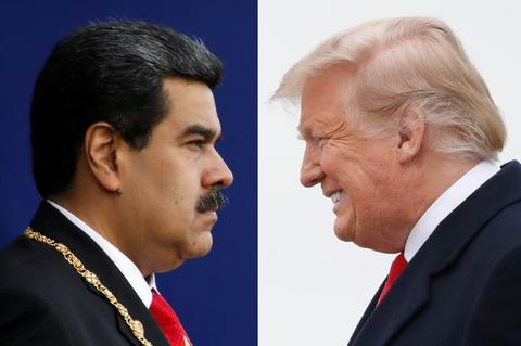 """马杜罗:美国1500万美元""""买我人头"""",特朗普批准了暗杀行动"""