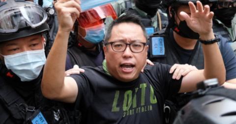 解气!乱港分子谭得志被捕 警方通报其涉嫌发表煽动文字www.smxdc.net