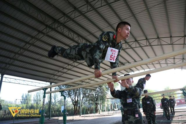 军事体育运动会有多燃?高清大图看高手过招-第1张
