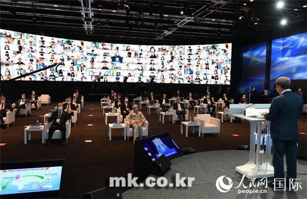 第二十一届世界知识论坛在首尔开幕-第1张