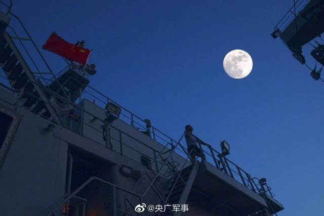 天涯共此时!亚丁湾护航官兵镜头下的月亮,太美了【www.smxdc.net】 全球新闻风头榜 第4张