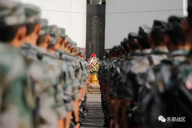 烈士纪念日,东部战区官兵这样致敬英雄-第13张