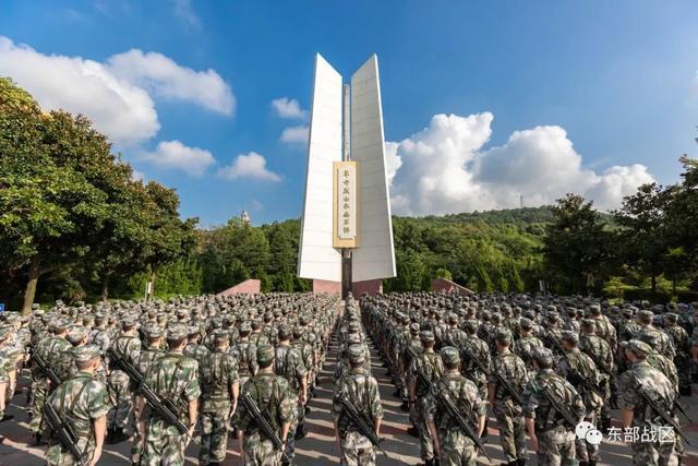 烈士纪念日,东部战区官兵这样致敬英雄-第14张