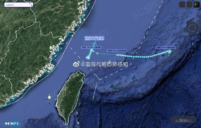 南海战略态势感知:10月15日,美国两架军机分别前往南海和东海侦察 全球新闻风头榜 第2张