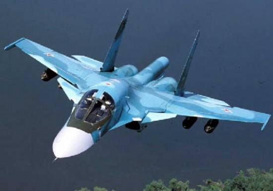 俄军一架苏-34坠毁 未造成人员伤亡