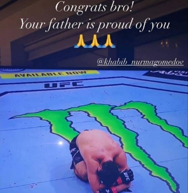 哈比布卫冕UFC轻量级冠军后宣布退役,C罗等体坛名将送祝福