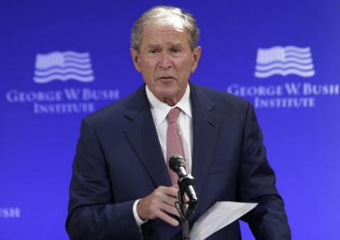 """小布什""""祝贺拜登胜选"""":政见不同,但会提供力所能及的帮助 全球新闻风头榜 第1张"""