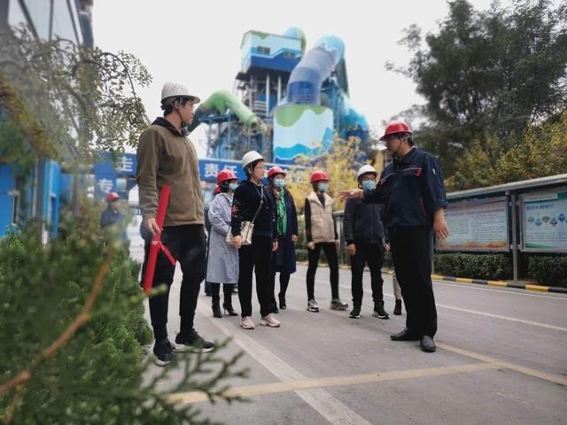 """淄川:""""市民代表看生态环境变化""""第二站走进东华水泥有限公司"""