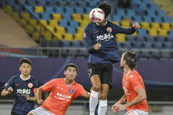 足球丨中甲保级附加赛:江西联盛胜北京人和