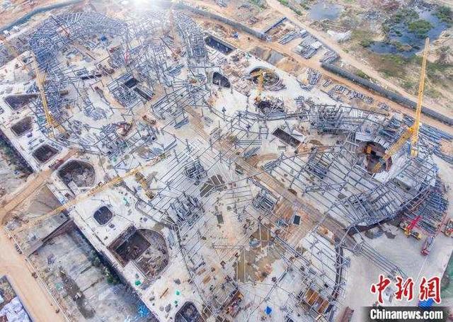 亚洲最大免税商城预计今年年底封顶