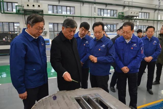 中国兵器工业集团总经理、党组副书记刘大山调研包头兵工企业