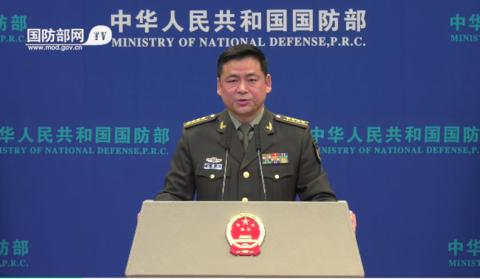 国防部警告蔡英文:一旦发生严重情况,解放军必将迎头痛击