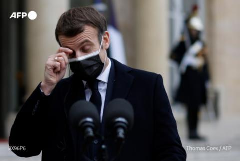 法国总统府:马克龙新冠检测结果呈阳性 将隔离7天