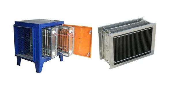 高空油烟净化器与低空油烟净化器电场比较