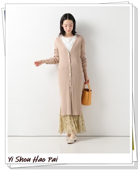 米色开衫的秋季搭配精选!24种你值得尝试的优雅穿搭-第16张