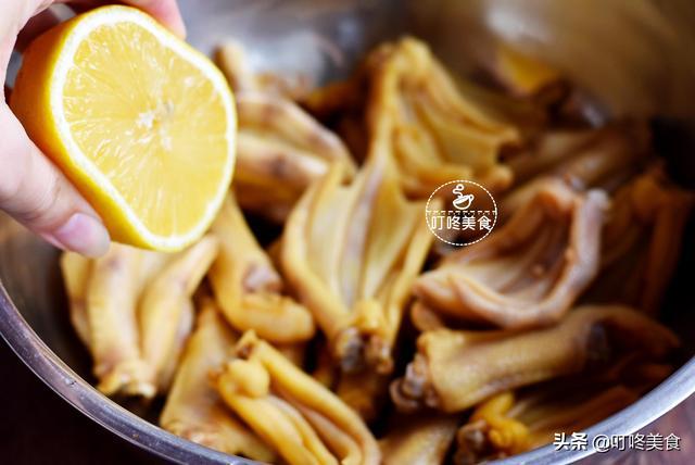 懒人凉菜柠檬鸭掌 专治盛夏没食欲