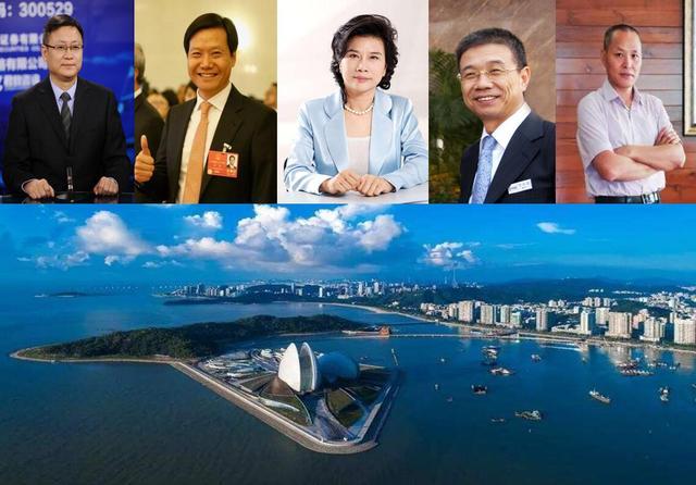 广东珠海6位商业圈顶级富豪,身价或百亿或千亿?谁是最强潜力股