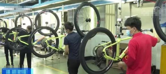 自行车卖疯了!国外订单超火爆!有企业订单排到明年年底