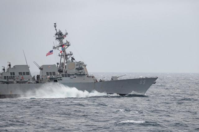 今年第9次!台防务部门称美军驱逐舰今日穿越台湾海峡www.smxdc.net